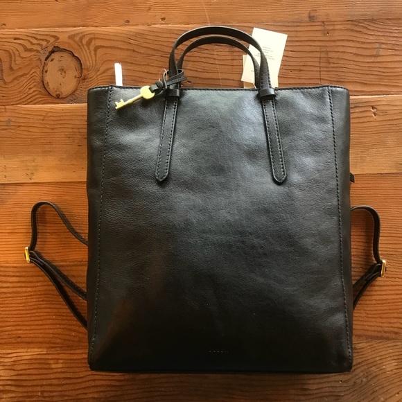 a1b3684316bd Fossil Handbags - Fossil Camilla Backpack